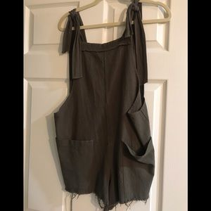 Other - Olive green romper size small